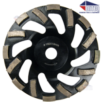 "6"" Turbo Low Profile Wheels for Hilti DG150"