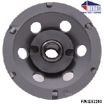 "PCD 4""-Cup Wheels Polycrystalline Diamond Threaded"