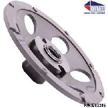 "PCD 5""-Cup Wheels Polycrystalline Diamond Threaded"
