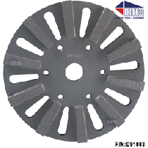 "8"" TG-8 Grinding Head 30/40 Grit Coarse"