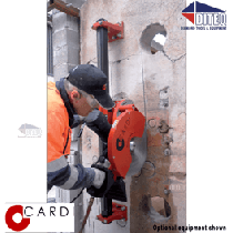 Cardi Da Vinci Guide Wall Sawing System