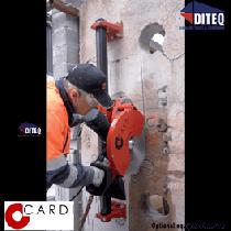 Cardi Da Vinci Guide Wall Sawing System