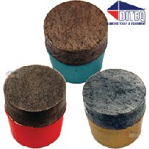 "1"" Plugs [14/16-Grit] Medium Bond"