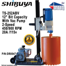 Shibuya™ TS-252ABV Pro With Vacuum Pump