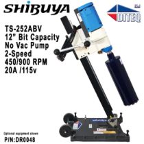 Shibuya® TS-252ABV Pro, NO Vacuum Pump