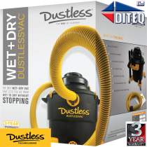 Dustless Technologies™ HEPA, 16 Gal, Wet/Dry Vacuum  D1606