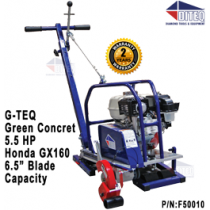 G-TEQ Green Concrete Saw 5.5 Gas