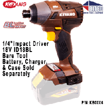 "18V 1/4"" Hex, Impact Driver, Bare Tool"