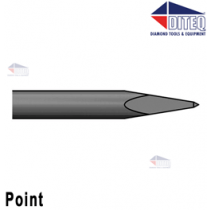 "Point 9"" .580"" Hex Shank Round Collar"