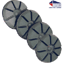 "3"" Epoxy Polishing Pads Wet/Dry"