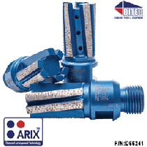 S-43AX Arix Finger Bits For Stone Fabrication