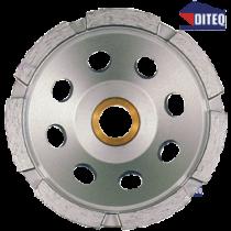 "CS33 4"" Single Row Cup Wheels 7/8-5/8"
