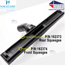 Nacecare Rubber Squeegee Rear for WV-1800 WV-900 Wet Vacuums