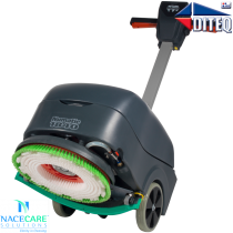 Nacecare™ TGB516 Compact Floor Scrubbers, Battery, w/Poly scrub brush