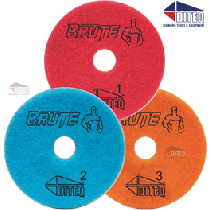 BRUTE Wet 3-Step Polishing Pads For Engineered Stone