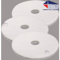 White Floor Polishing Pads