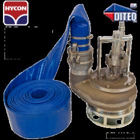 """Hycon 3"""" Hydraulic Trash Pump 352 GPM"""