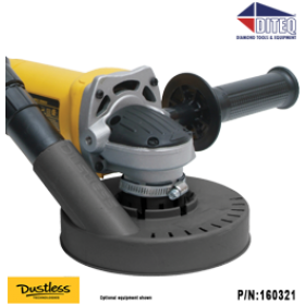 "Dustless Technologies™ Dustie for 4"" & 5"" Grinders"