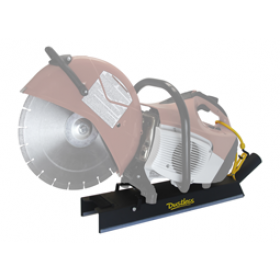 Dustless DustBuddie for High Speed Saw Dust Control