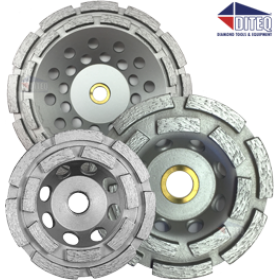 CD14 Double Row Diamond Cup wheels