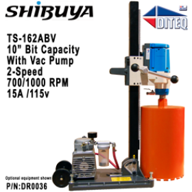 Shibuya™ TS-162ABV With Vacuum Pump