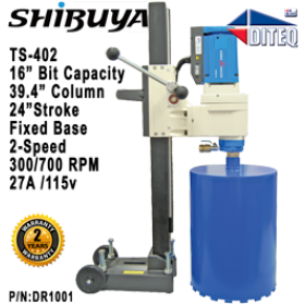 Shibuya™ TS-402 Fixed Base Core Drill