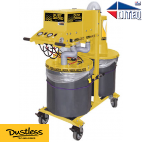 Dustless Technologies™ HEPA, 600 CFM Dust Droid