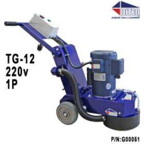 DITEQ™ TG-12 Grinder / Polisher  5HP 220v 1P
