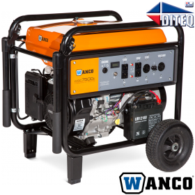 WANCO™ 7500 Watts Generator Kohler 14 HP