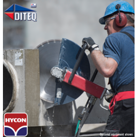 "Hycon™ HCS16 Hydraulic Hand Saw 16"" Blade"