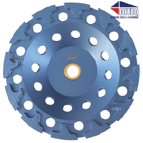 Blue Storm Segmented Cup Wheels