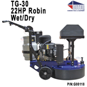 DITEQ™ TG-30 Production Propane Grinder/Polisher