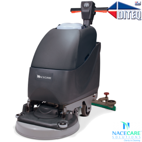 Nacecare™ TTB1120 Twintec Battery Floor Scrubbers, 20 inch, Push,