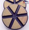"3"" TEQ-Lok Transitional Ceramic 30 Grit-Purple"