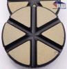 "3"" TEQ-Lok Transitional Ceramic 100 Grit-Black"