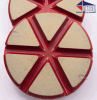 "3"" TEQ-Lok Transitional Ceramic 200 Grit-Red"