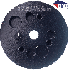 """3"""" Pizza Seg Hard-Bond [30/40 Grit] with Magnetic Pin"""