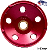 "PCD 4""-Cup Wheels Polycrystalline Diamond"