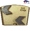 Arrowhead Wing Trapezoid Segments | 18/20 | Soft Bond