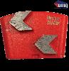 Arrowhead Wing Trapezoid Segments | 120 | Hard Bond