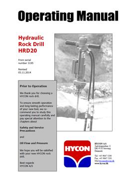 Hycon Rock Drill HRD20