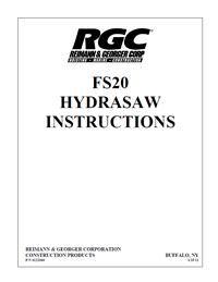 RGC FS-20 saw