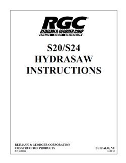 RGC F-20 / F-24 Manual