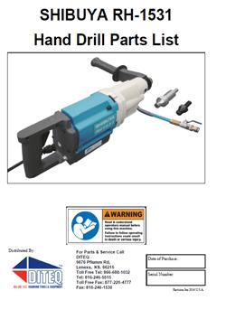 RH-1531 hand drill