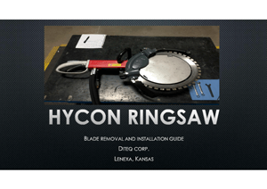 Hycon Ring Saw Blade