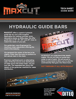 Maxcut Guide Bar
