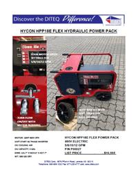 Hycon HPP18E Flex