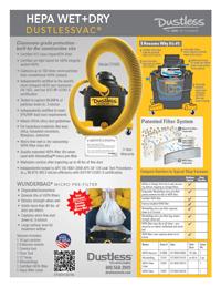 Dustless HEPA Vacuum
