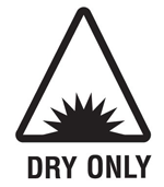 dry use only