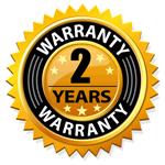 2 Year Warranty
